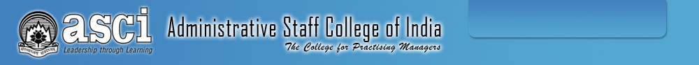 ASCI - Administrative Staff College India