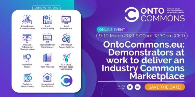 ontocommons demonstrators workshop