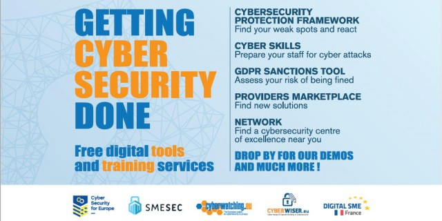 Getting Cybersecurity Done – Free digital tools and training services at FIC2020