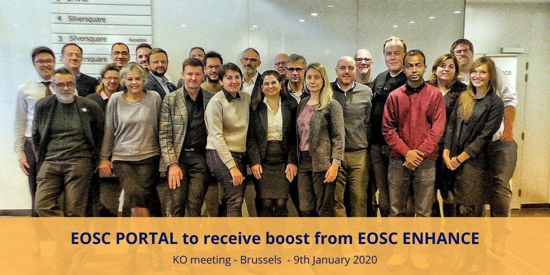 EOSC PORTAL to receive boost from EOSC ENHANCE