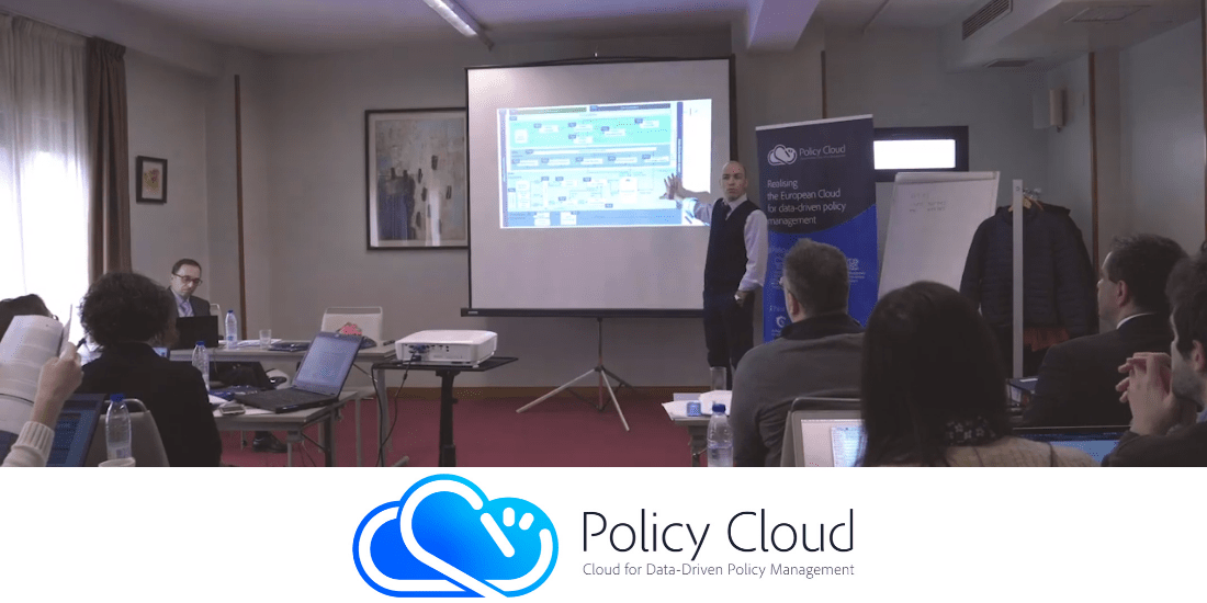 PolicyCloud video by Trust-IT